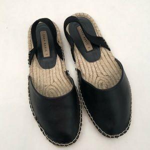 Zara Slingback Espadrilles Sandals EUC 36